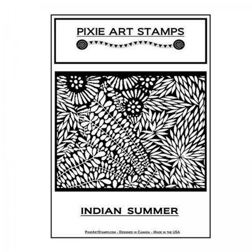 Textura Mike Breil /Pixie Art Stamps/Indian Summer