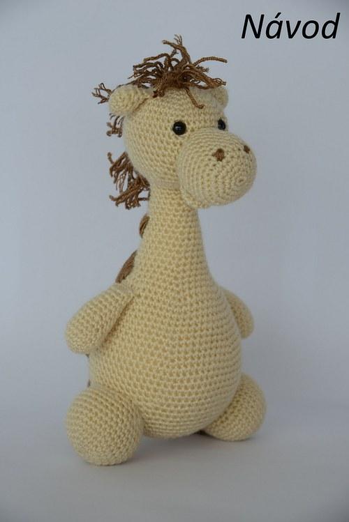 Návod na háčkovanú žirafu