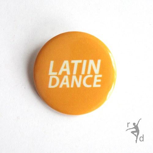 Placka LATIN DANCE (Odznak) - Doprodej