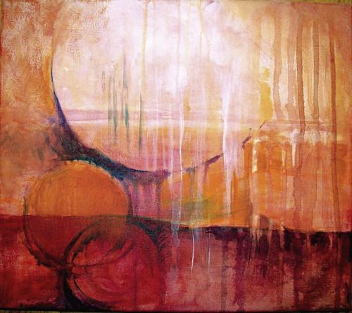 Snění, obraz 35 x 40 cm