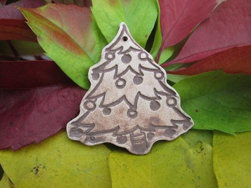 Vánoční ozdobičky - vánoční stromeček