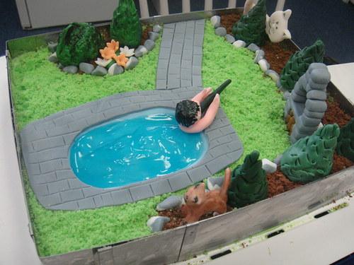 Žertovný dort-Lovy šelem, aneb bazén je můj Číčo!
