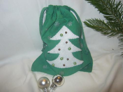 Vánoční pytlík - sněží na stromeček