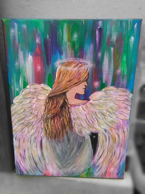Naděje - duhový anděl