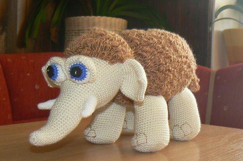 Návod na háčkovaného mamuta