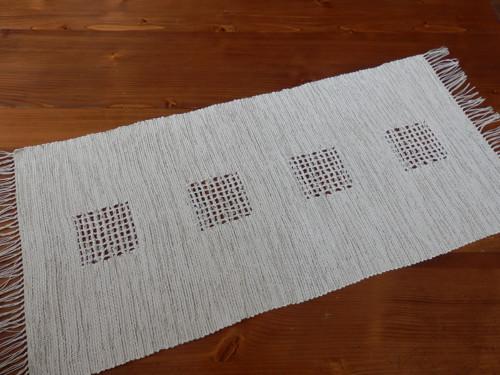 Ubrus - ručně tkaný