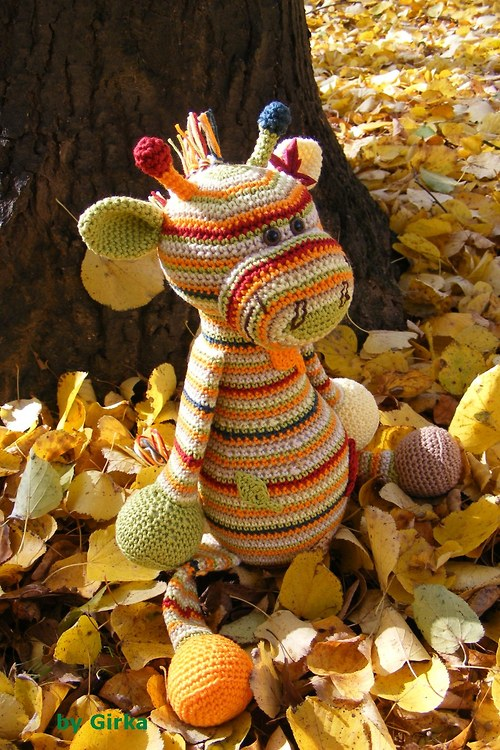 Žirafka Jesenka