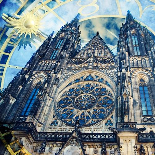 Magická Praha - fotografie 30x30cm