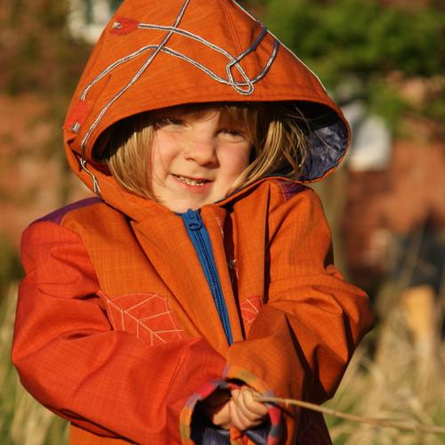 Liška zabukem ...softshell bunda 5-8 let