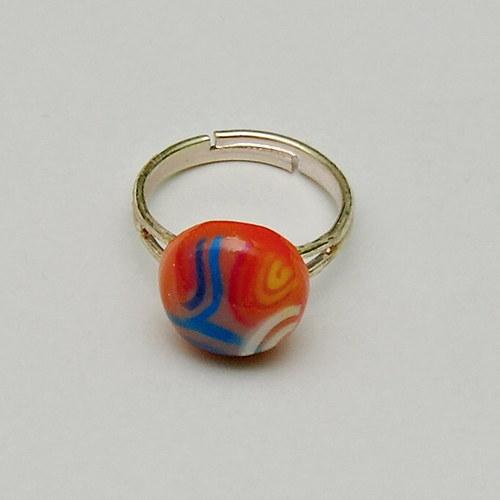 Oranžový prsten