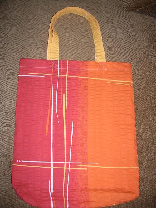 Nákupní taška z bavlněného krepu 1