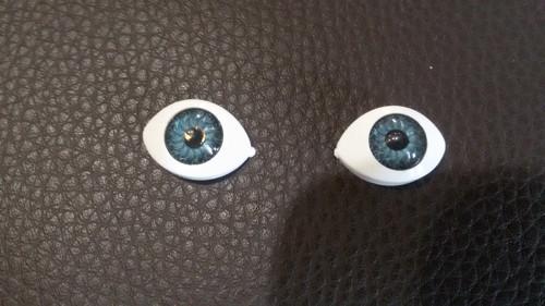 Nalepovací oči, velikost 14 x 19 mm