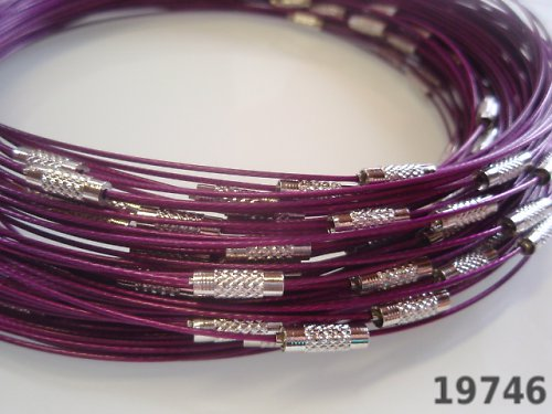 19746-B12 Lanko se šroubkem FIALOVÉ