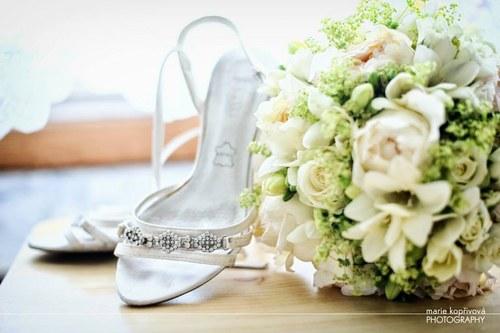 Svatební kytice - ze zámku