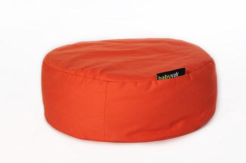 Pelíšek - oranžový 30/80cm
