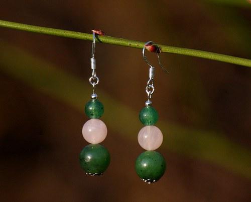Zelené (Jadeit, Růženín a Avanturín)
