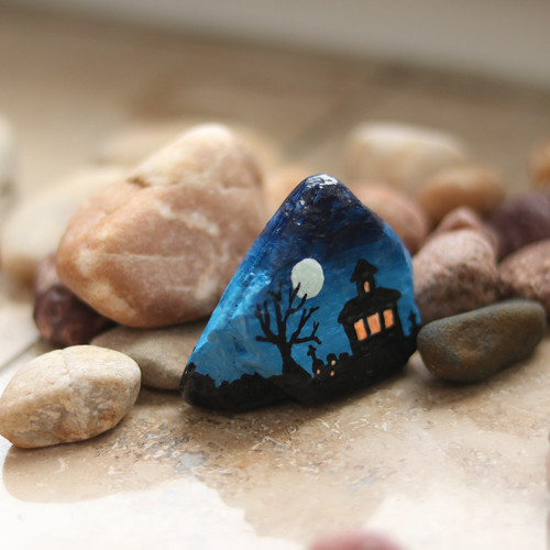 Halloweenský kamínek