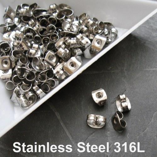 Zazážky Stainless Steel 316L - 10 ks