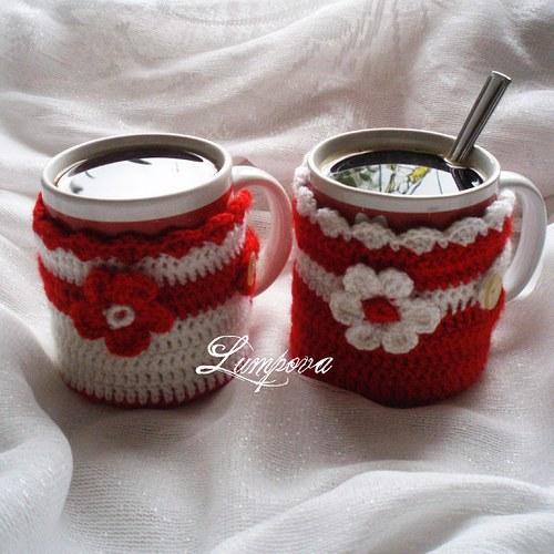 Svetříky pro kávičku či čajík