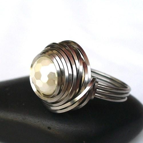Prsten - Perleťky