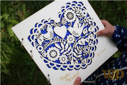 Svatební kniha - fotoalbum - kniha hostu