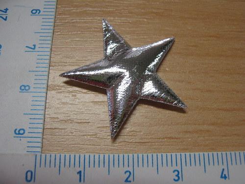 Aplikace hvězda stříbrná