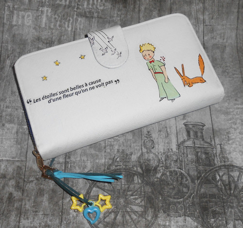 Prostorná peněženka Malý princ  s citátem