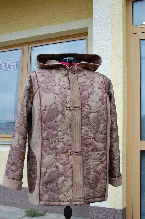Dámská jarní- podzimní bunda -vel .48-56