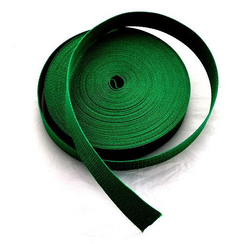 Popruh POP 4 cm - zelená střední