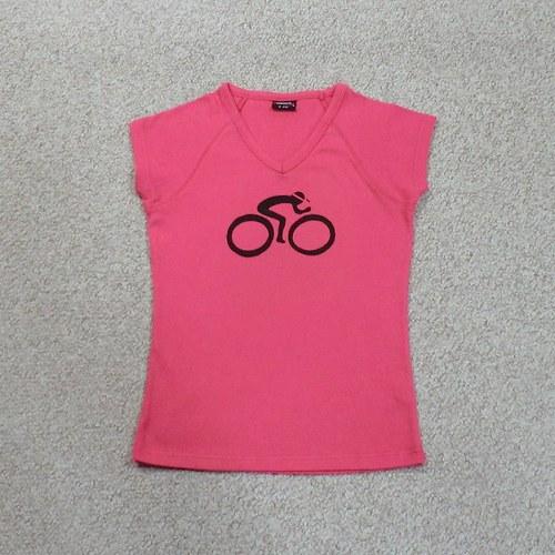 Růžový cyklista M - SLEVA z 250,- Kč