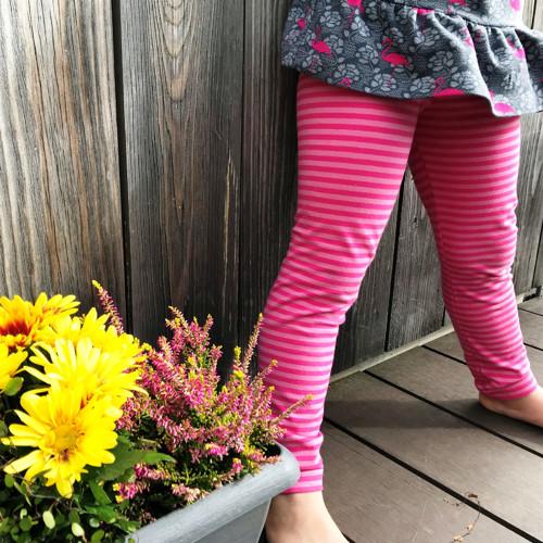 Leginy BIO Pink Stripes