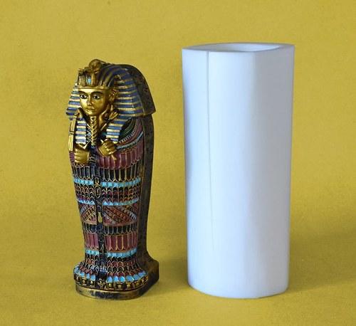 Forma na svíčky Sarkofág - výška 18,5cm