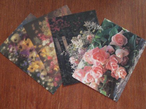 Květinové pohlednice