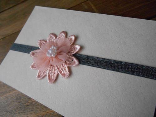 Čelenka Růžový květ