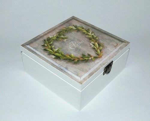 Krabička - srdíčko II.