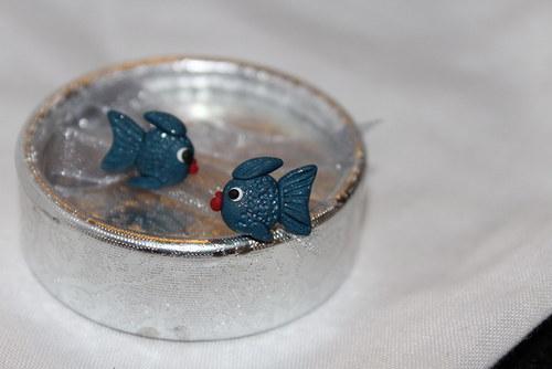 Rybičkové náušnice
