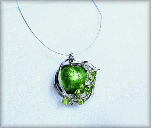 Na louce - náhrdelník