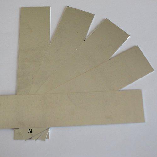 Sada výztuh pro náramek III / 5 ks (široká-dlouhá)