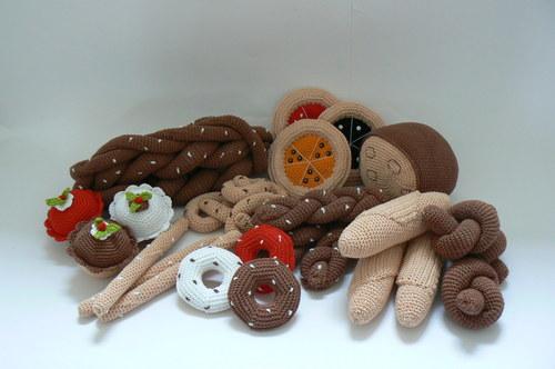 Návod na háčkované pečivo - 10 druhů