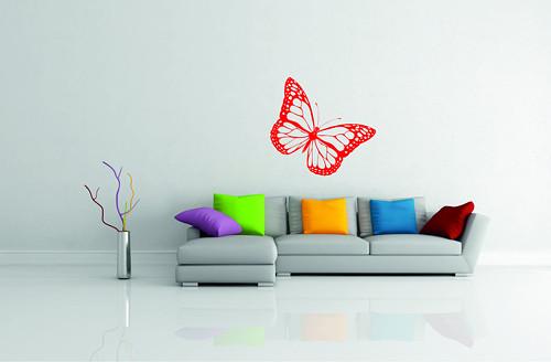 Samolepka na zeď - Motýlek