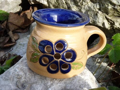 Aromka S Modrá květina
