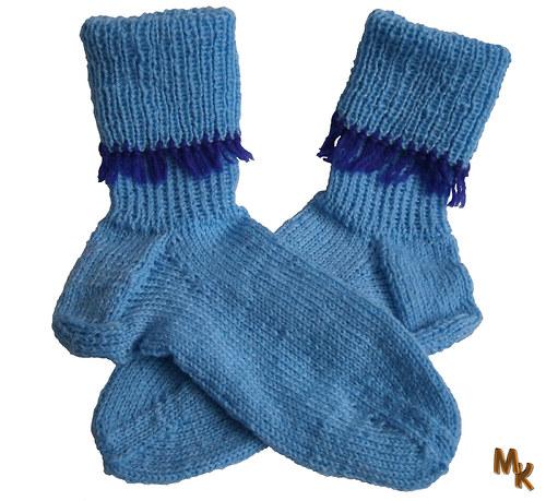 Ponožky s třásněmi