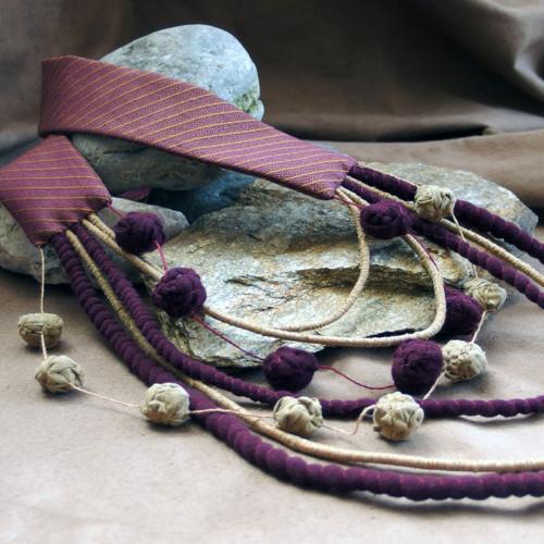 Proužek za proužkem II. - náhrdelník