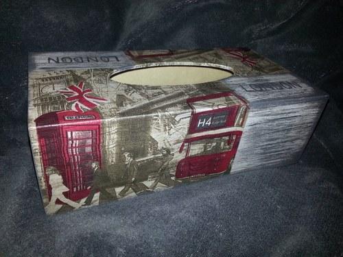 Krabička na kapesníky London