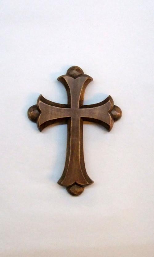 Kříž zdobený 16cm