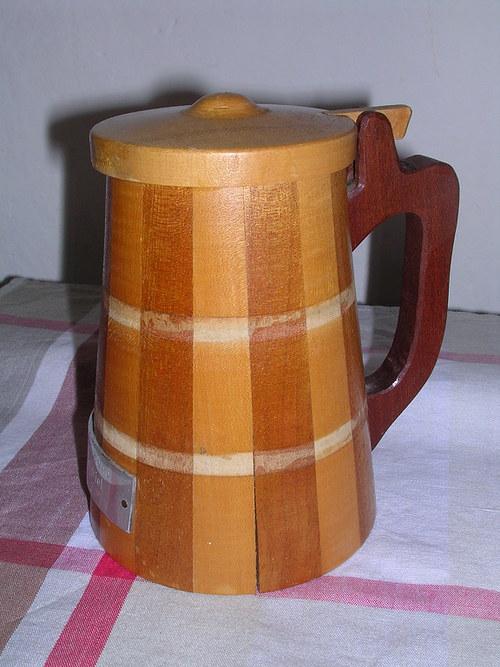 Dřevěný korbel - !SLEVA!