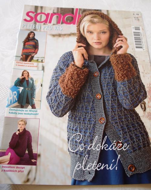 Časopis Sandra Pletení pro Vás č.19