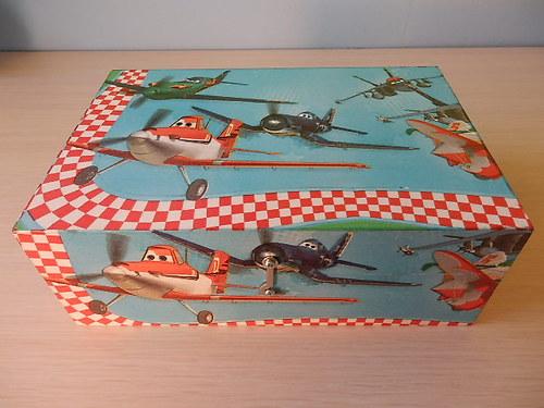 Krabice na klučičí poklady-bez přihrádek-Planes