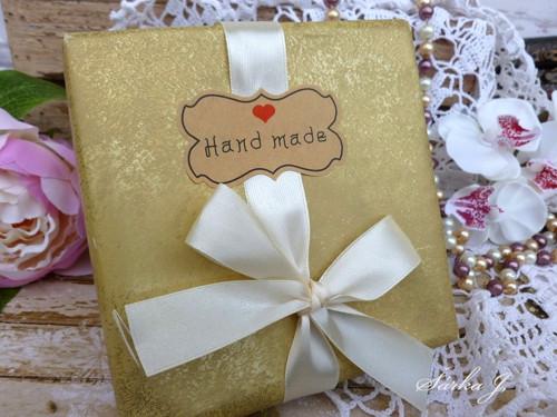 samolepicí etiketa - Hand made