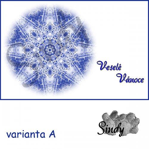 Vánoční pohlednice 006 - varianty